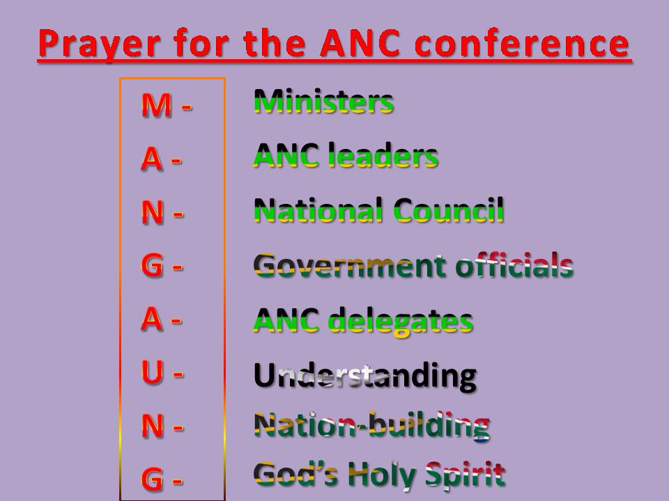 Mangaung Prayer